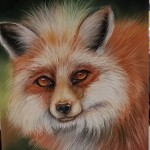 Red Fox, a Kay design created by Liz Miller