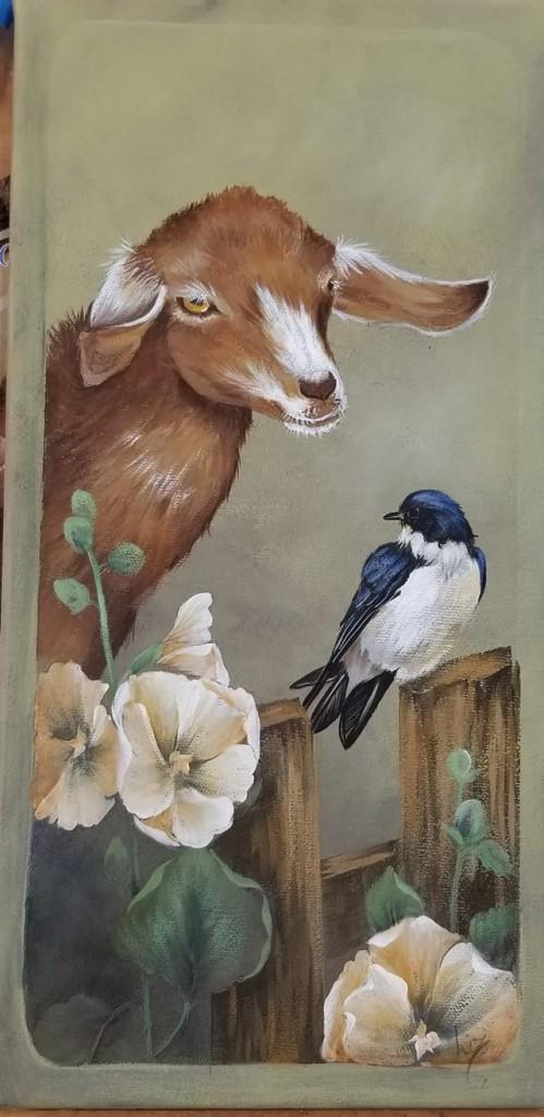 Goat Sherry Nelson FB