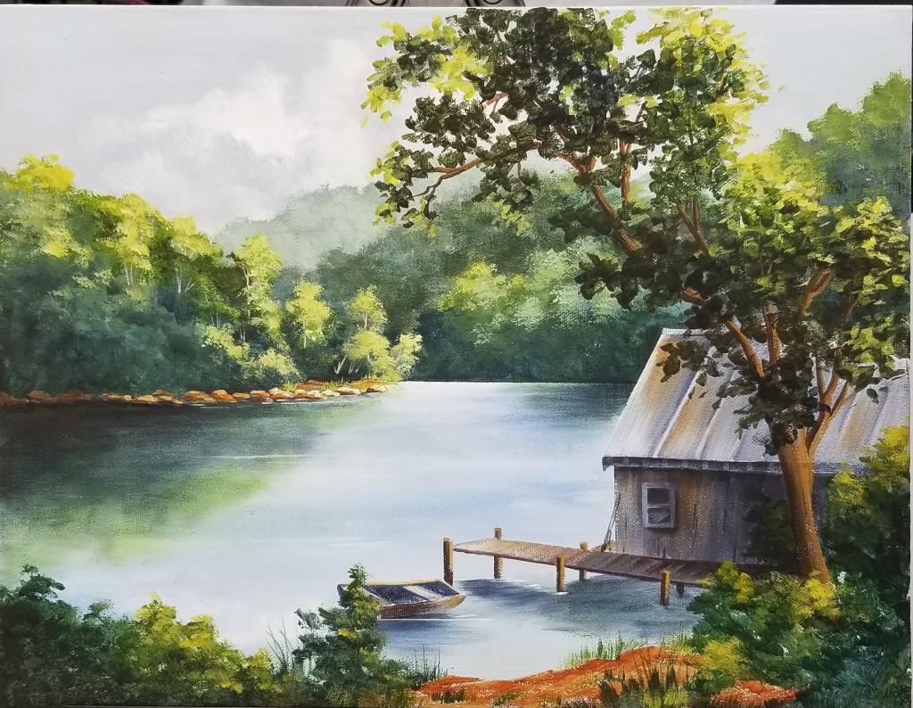 The Lake  A Dorothy Mullins design