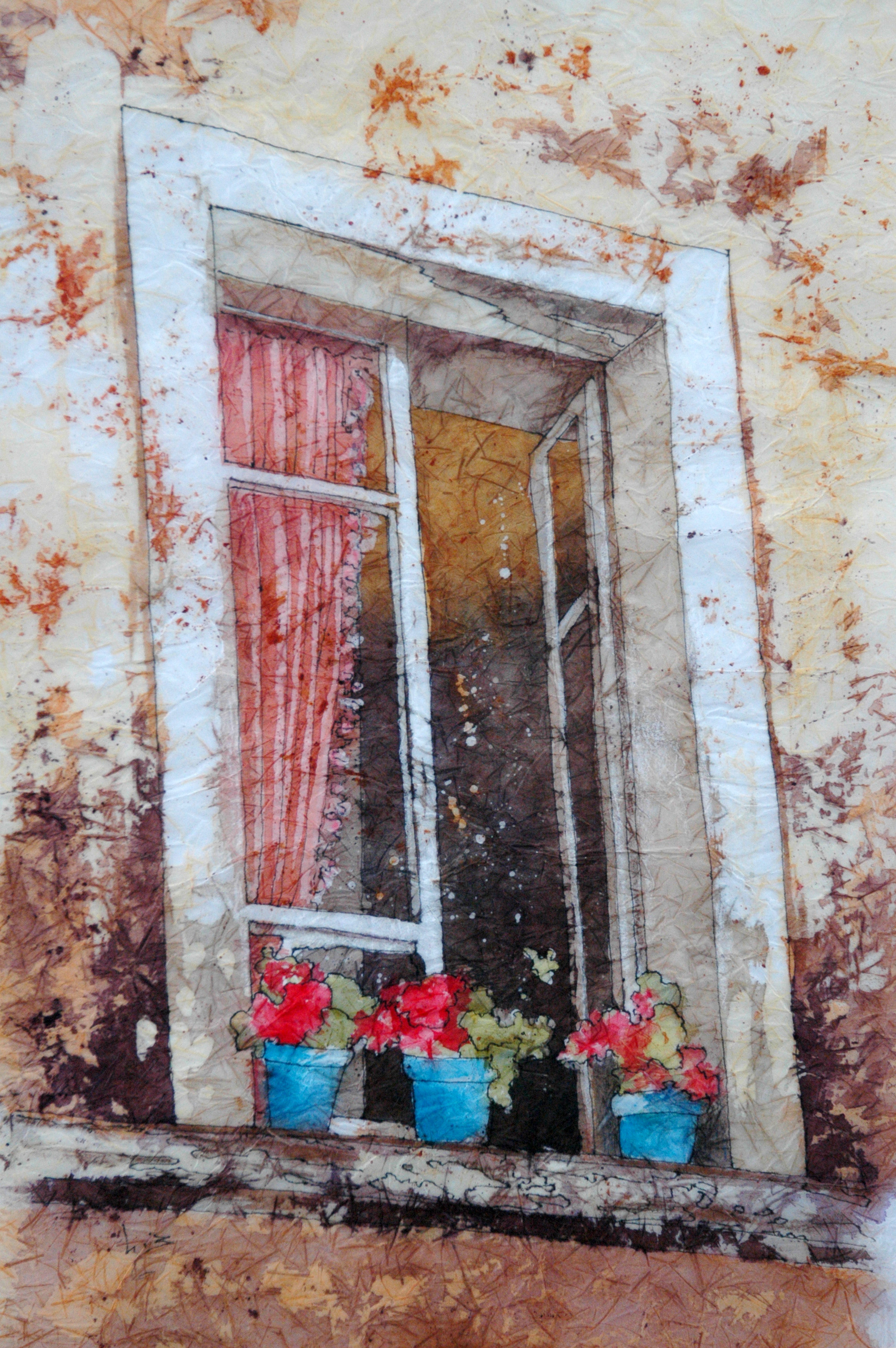 Tuscan Window designed by Kathie George