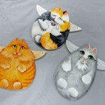 Kitty Angel Ornaments