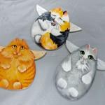 Kitty Angel Ornaments
