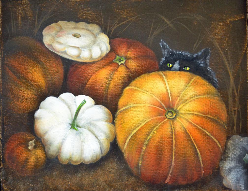 A Pumpkin Peek
