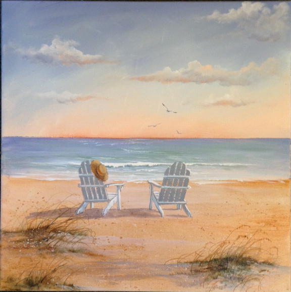 Beach scenes with beach chairs hot girls wallpaper