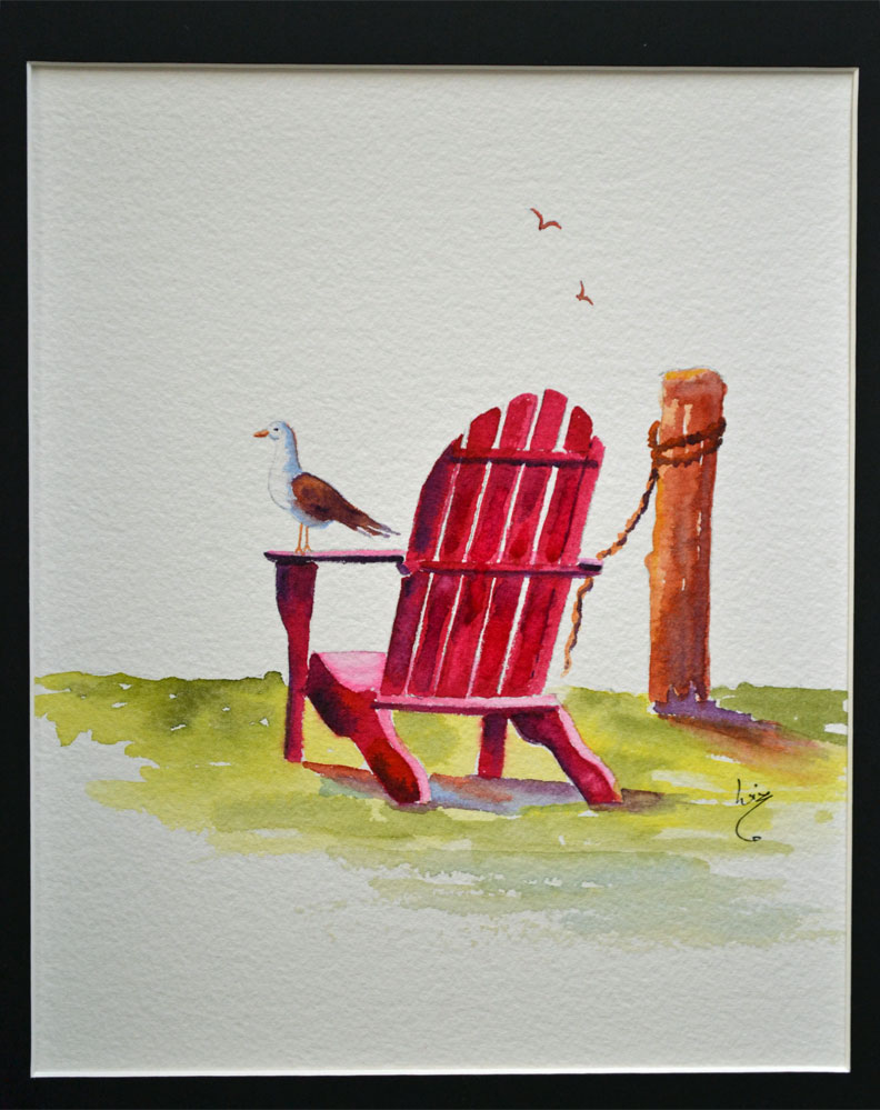 Chair on the Sound