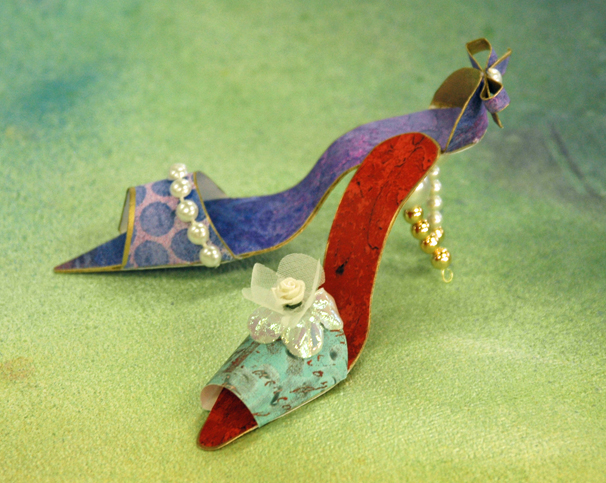 High Heel Ornaments