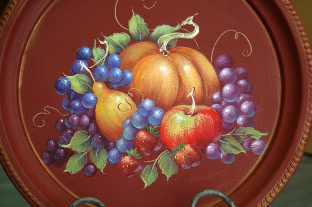 Pumpkin and Fruit Harvest a JoSonja design