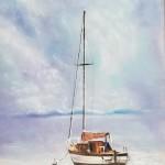 Italian Sailboat, Liz Miller CDA