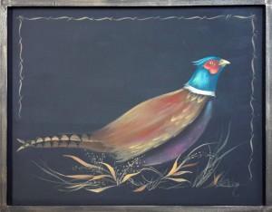 Pheasant painted by Liz Miller original by Veda Parsley