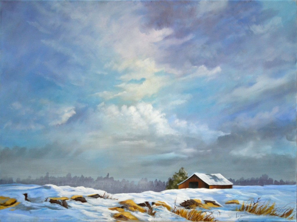 Winter Clouds from a William Powell design