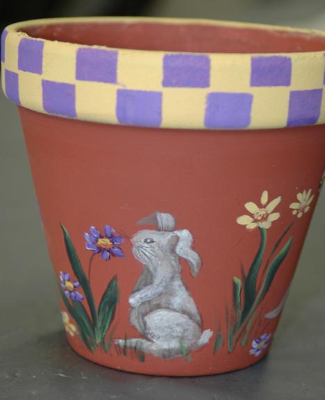 web rabbit flower pot 2