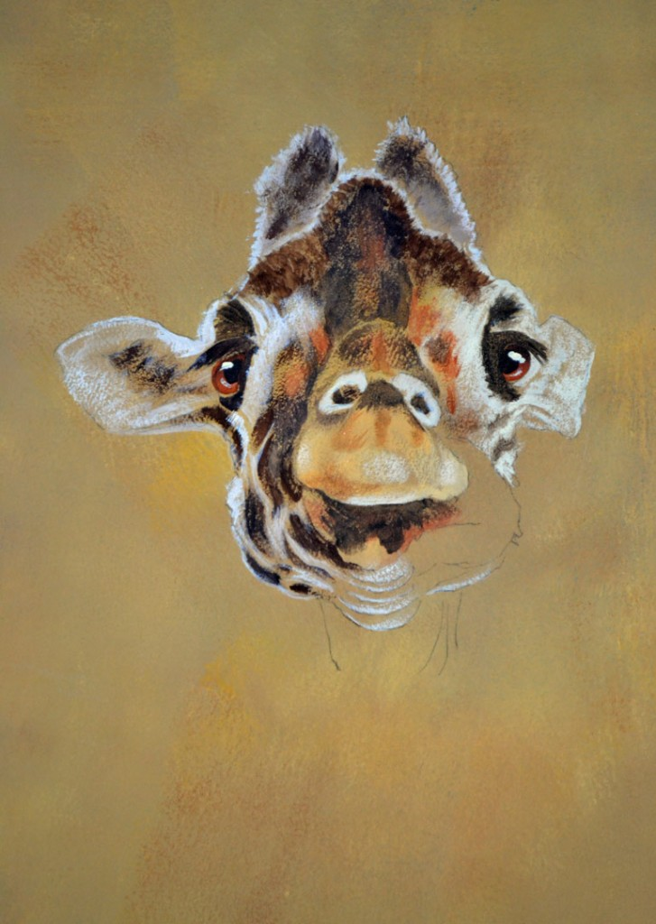 Giraffe in progress