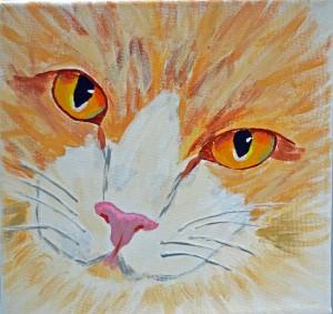 Garfield painted by Barbara B.