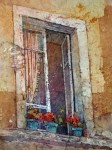 Tuscan window Kathie George design