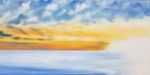 Beginning the sky